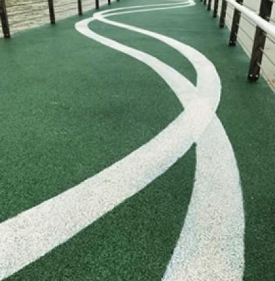 萍乡透水地坪路面案例