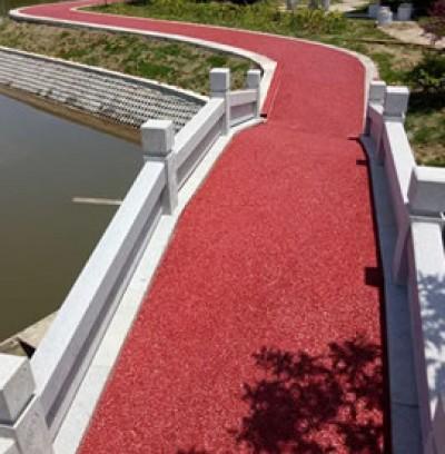 湖南桃源县公园透水路面项目